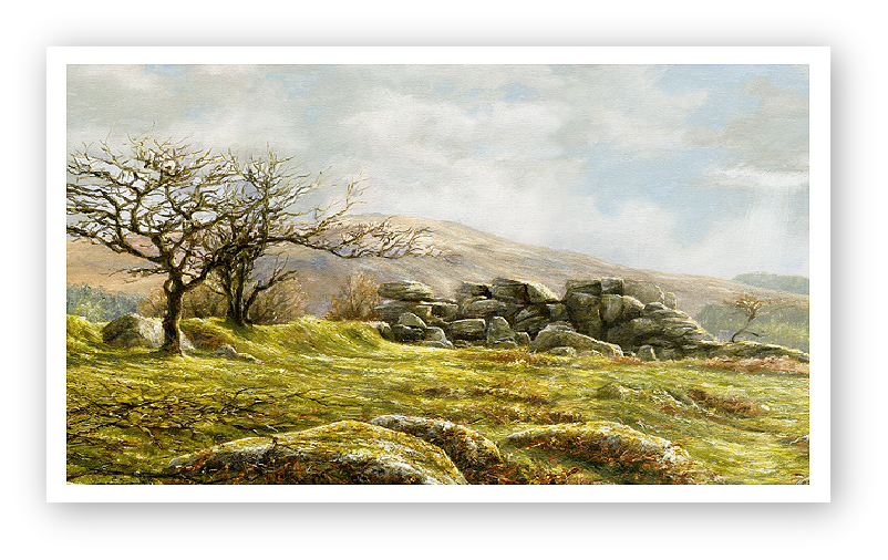 Burrator Panorama, Dartmoor detail