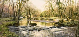 prints the river walham near double waters david young paintings