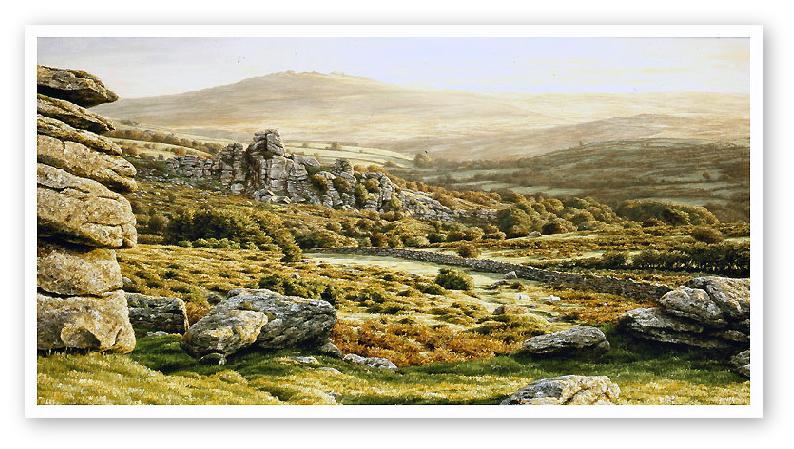 Vixen Tor Tor, Dartmoor print enlargement